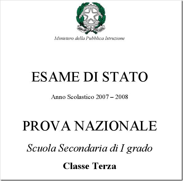 Le soluzioni delle prove nazionali di matematica e italiano