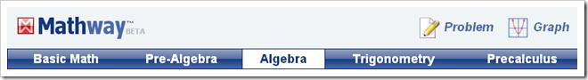 Mathway: risolvere le equazioni un passo alla volta, automaticamente!