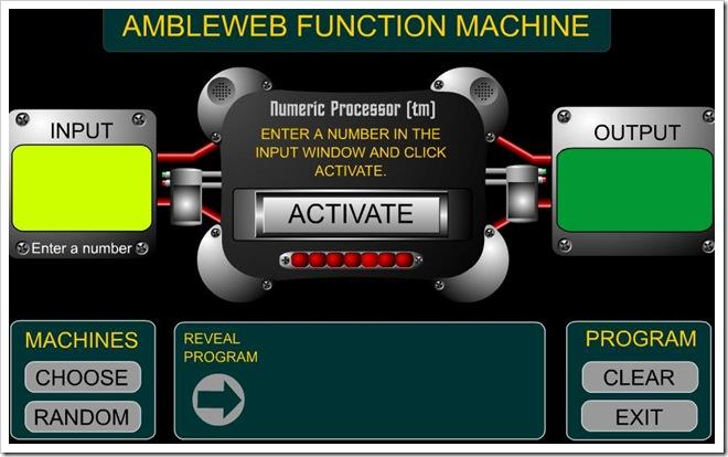 """Scopri il meccanismo della """"macchina delle funzioni"""""""