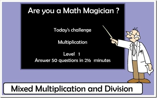 Diventa un mago della matematica
