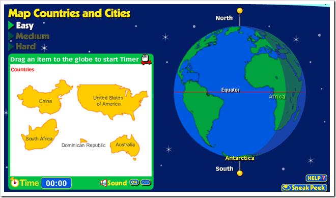 GeoGames, un gioco per insegnare Geografia