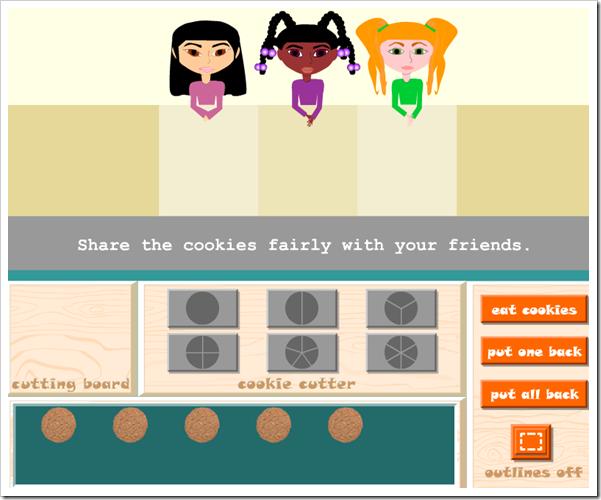 Dividi i biscotti tra amici e impara le frazioni