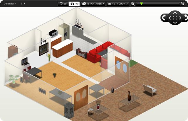 Homestyler progettare la casa gratuitamente osmosi for Software gratuito per la progettazione di piani di casa