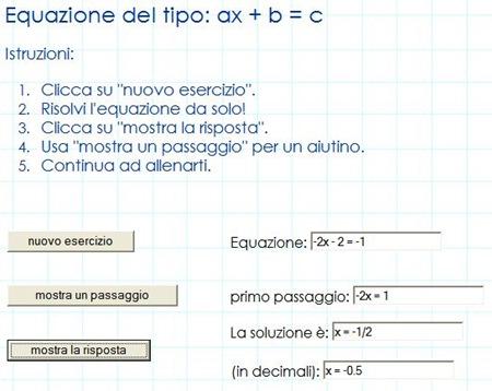 Esercizi di Algebra, risolti un passo alla volta