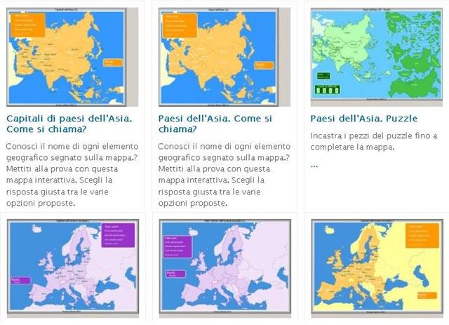 Mappe interattive, un modo divertente per imparare la geografia
