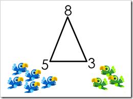 Il triangolo delle somme e sottrazioni