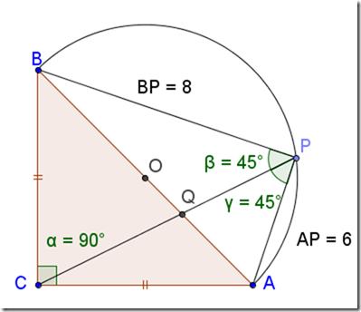 Risolvere un problema di geometria piana