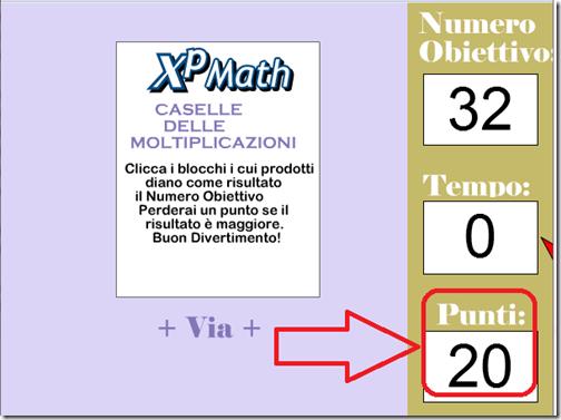 Trova i fattori per imparare le moltiplicazioni