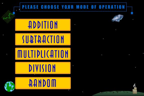 Se conosci le operazioni puoi lanciare la navicella