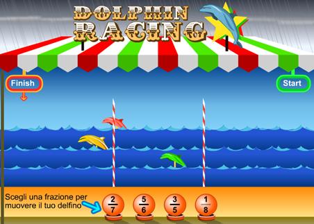 Frazioni e delfini