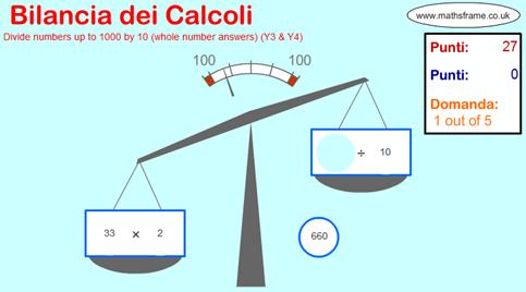 Bilancia dei Calcoli