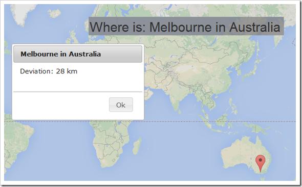 Dove si trova? Quiz geografico con punteggio