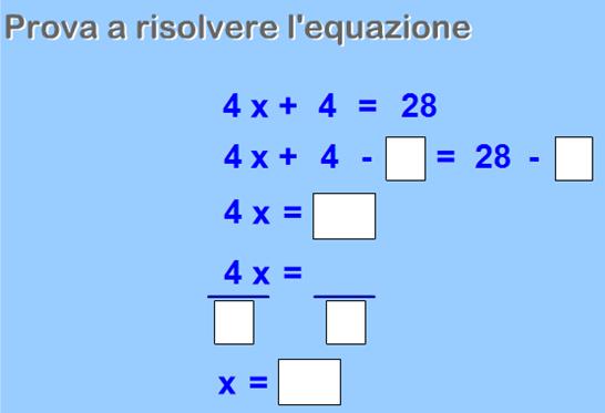 Come si risolvono le equazioni