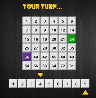 Il gioco delle moltiplicazioni