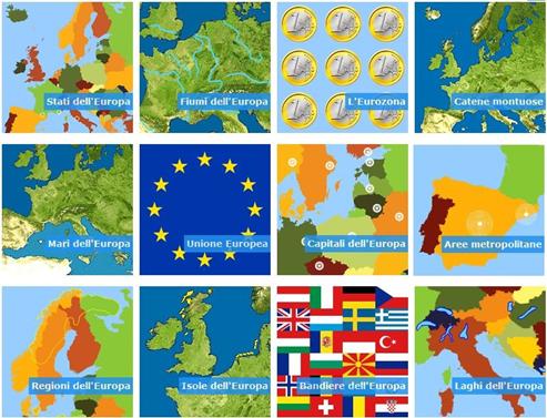 Migliora la tua conoscenza dell'Europa