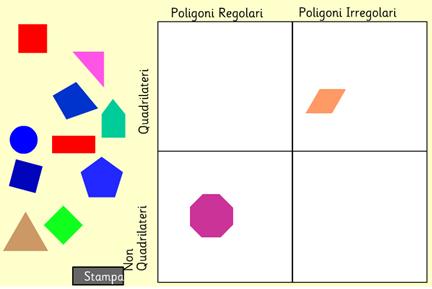 Quadrilateri e poligoni, riconoscili e classificali