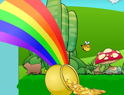 Raccogli le monete d'oro, imparerai le tabelline