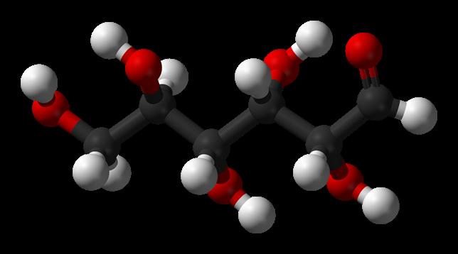 D-glucose-chain-3D-balls