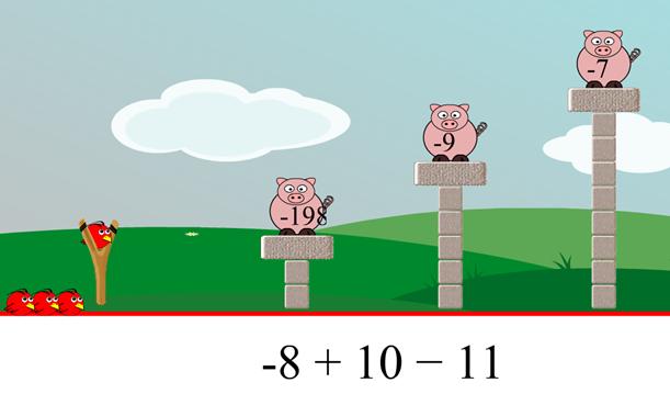 Angry Birds matematico