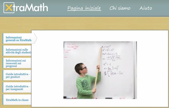 XtraMath, alfabetizzazione matematica