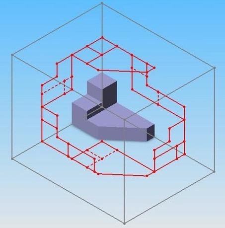 Visualizza le proiezioni ortogonali