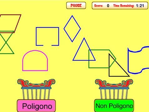 Gioca e riconosci i poligoni