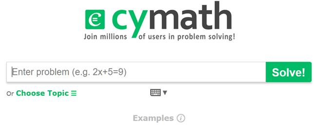 Cymath ti aiuta a risolvere le equazioni